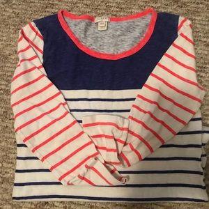 J.Crew striped shirt